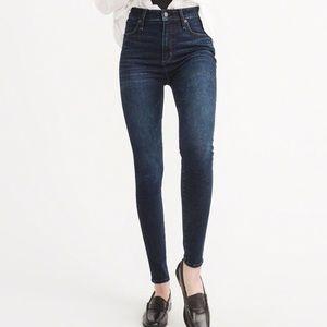 AF Simone high rise super skinny jean